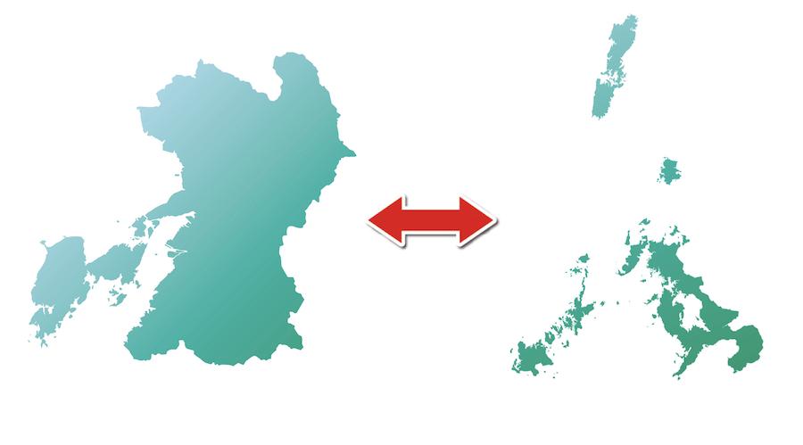 熊本⇔長崎