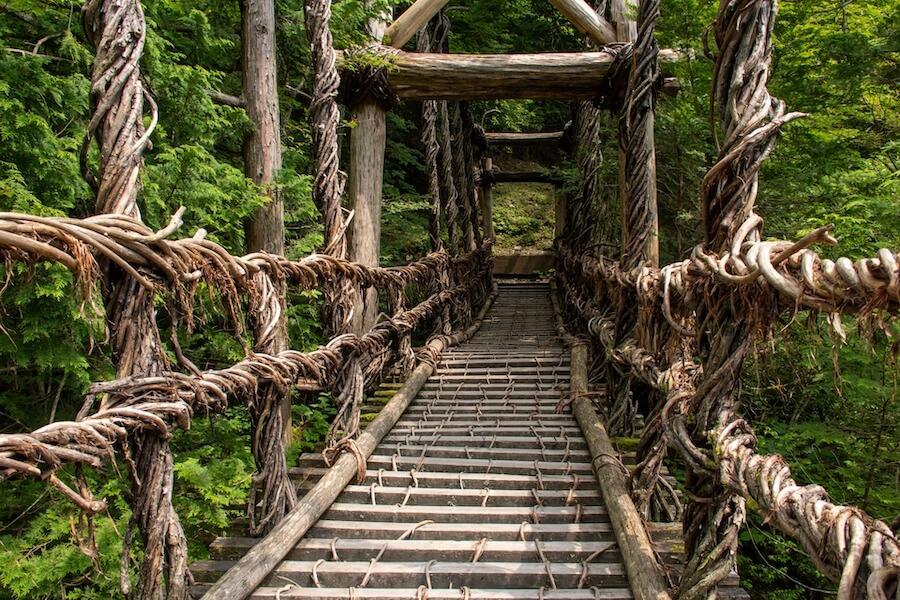 三好・かずら橋