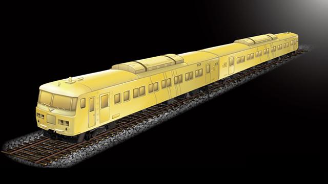純金製 185系車両 2両