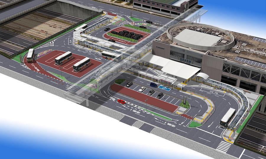 和泉中央駅・工事完成後