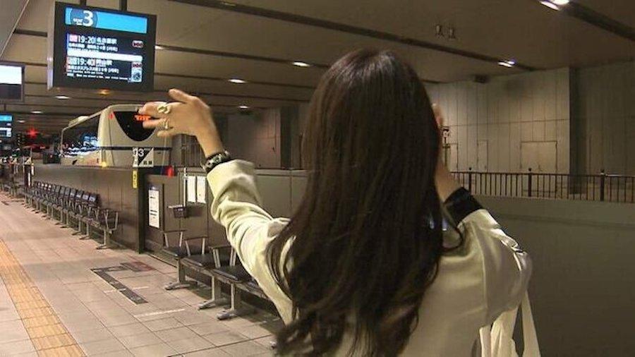 3月31日の大阪駅バスターミナル
