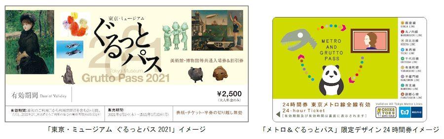 東京・ミュージアム ぐるっとパス2021