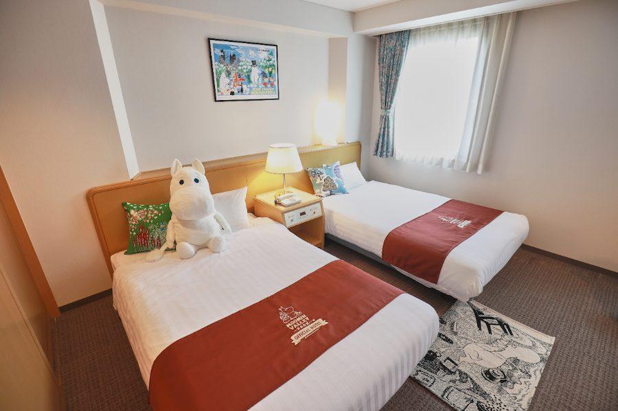 「ムーミンバレーパーク」新規オフィシャルホテル